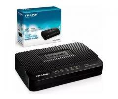 Módem Router Tp-link Ethernet Adsl 2 Modelo Td-8816