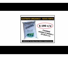 SUSTRATO ORGANICO - NOVO FERTIL