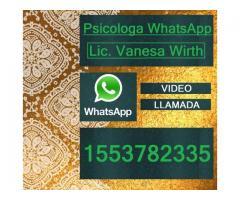 Psicologa WhatsApp