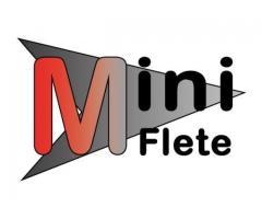 Mini Flete para servicios de logística y envío de paquetería.