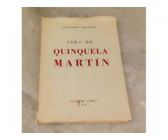Libro De Benito Quinquela Martin.