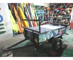 Trailler ideal transporte de kayak o tablas de windsurf
