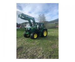 Tractor agrícola John Deere 6125R  Año: 2012