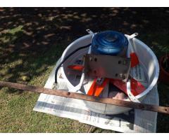 Extractoror de aire industrial 45 cm monofasico