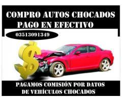 COMPRO VEHICULOS CHOCADOS EN EFECTIVO!!!