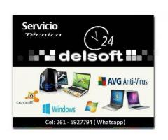 SERVICIO TECNICO PC - NOTEBOOK - NETBOOK EN MENDOZA
