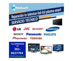Service Servicio técnico Reparación tv televisor led lcd plasma smart