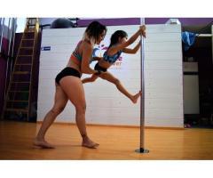 Clases de Pole Sport para niños. Pole kids en San Andres