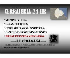 Cerrajero Palermo 24Hs