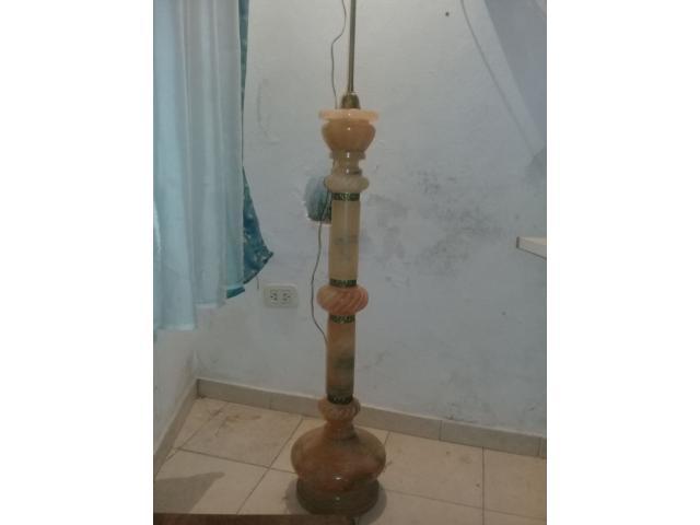 Antigua Marmol Lampara De Pie Base rBoCexWd