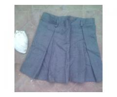 Pollera de uniforme escolar