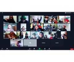 Cumpleaños por Zoom Encuentros Familiares Virtuales Zoomples