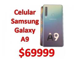 Celular Samsung Galaxy A9 128/6gb Ram 4 camaras Nuevo en Caja cerrada