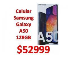 CELULAR SAMSUNG GALAXY A50 128GB GARANTÍA OFICIAL