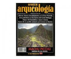 REVISTA DE ARQUEOLOGIA--MACHU PICCHU