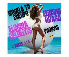 ULTRACAVITACION...!!!ELIMINA CELULITIS Y GRASA LOCALIZADA..!!PROMO FULL 2 SESIONES X $150.!