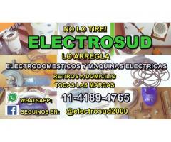 Servicio Técnico Electrodomésticos y Maquinas Eléctricas