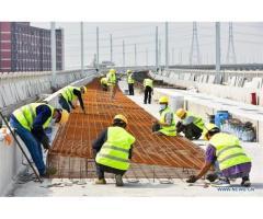 Empleos de Obreros y trabajadores de la construcción