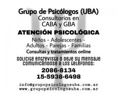 Atención. psicológica online