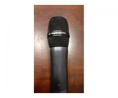 Microfono Sennheiser inalambrico