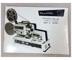 Proyector 8 y Super 8 Sonoro Único para coleccionistas