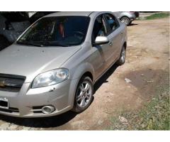Chevrolet Aveo LT 2012, solo venta, precio negociable.