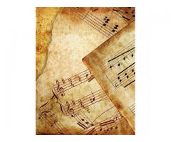 Copista Transcripción de partituras Para registrar en Sadaic