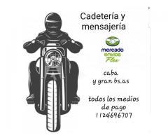 MENSAJERIA Y CADETERIA EN MOTO