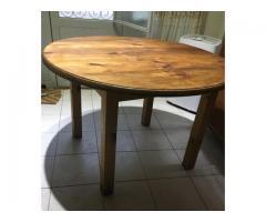 Vendo mesa de pino