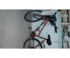 Bicicleta mountain bike rodado 26 18 cambios
