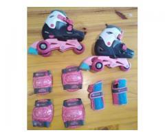 Kit evolutivo Rollers niña