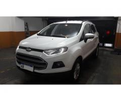 VENDO ECOSPORT SE 2017 IMPECABLE