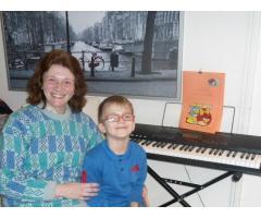 clases de piano teclado