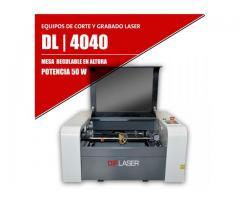 Máquina Láser Para Corte Y Grabado Dl4040 | 50w | 400x400mm