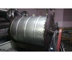 Mezcladora a Paletas de acero inoxidable Capacidad 1000 lts
