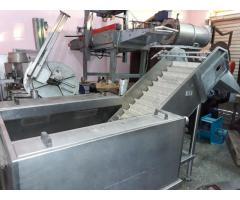 Lavadora de Frutas - Hortalizas de acero inoxidable