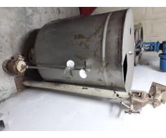Tanque de acero inoxidable con agitación capacidad 600 lts