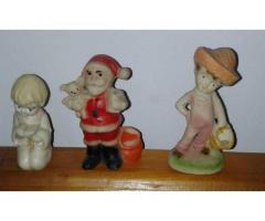 Estatuitas: Pastorcito, Papa Noel y Niño devoto