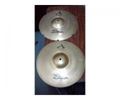 Hi Hat Zildjian A Custom Rezo 14 Exc Estado