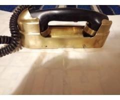 TELEFONO DE BRONCE DE BUQUE DE GUERRA