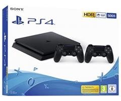 Playstation 4 Slim 500GB 2 Joystick + 2 Juegos Oferta