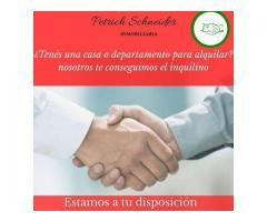 TENEMOS INQUILINO PARA TU DEPTO/CASA(ZONA PARANÀ)