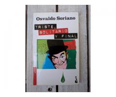 Libro Triste, Solitario y Final - Osvaldo Soriano - Booket