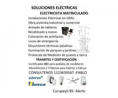 ELECTRICISTA MATRICLADO