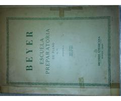 BEYER: ESCUELA PREPARATORIA DE PIANO Op. 101
