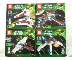 Bloques para armar Star Wars Nave + Figura SY