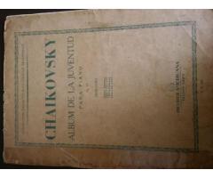 PARTITURA: CHAIKOVSKY - ALBUM DE LA JUVENTUD  p/piano