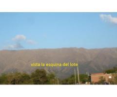 Oportunidad:  Vendo Lote en Villa de Merlo San Luis  Título perfecto (escritura en mano)