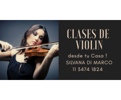 Clases Personalizadas de Violin