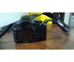 Camara Canon EOS 400D + Lente Canon 17-85mm